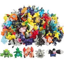 US Lot Of 48 PCS Random Pokemon Monster Action Figure Multicolor Toys Gifts