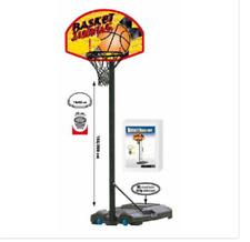 Panier Basket-Ball Janning Avec Lampadaire Transportierbar