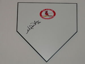 MICHAEL WACHA SIGNED HOME PLATE ST. LOUIS CARDINALS AUTOGRAPHED PROOF