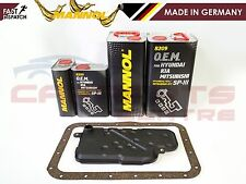 FOR MITSUBISHI L200 2.5 DID KB4T 06- AUTOMATIC GEARBOX FILTER 10L ATF OIL MANNOL