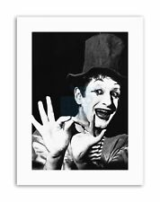 Marcel Marceau en traje de lona impresiones artísticas de pared