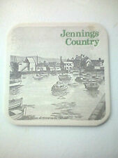 Vintage JENNINGS / CASTLE BREWERY - WHITEHAVEN  Cat No'16 Beermats / Coasters