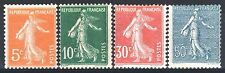 FRANCE ANNEE COMPLETE 1921 YVERT 158/161 , 4 TIMBRES SEMEUSE NEUFS xx TTB  M887J