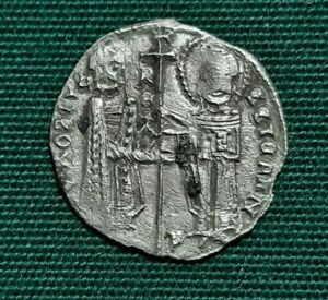 coin SERBIA. Stefan Uros II Milutin. 1282-1321. AR Gros
