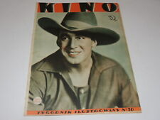 Kino 20/1932 polish magazine George O`Brien, Wilma Banky Edmund Lowe Lilian Bond