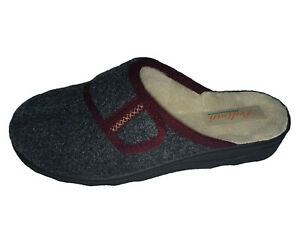 INTERMAX Slippers Touch Fastener Felt Wool Comfortable 36-42 Chalet Boots