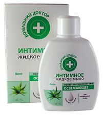 Home Doctor. Intimate liquid soap Refreshing Aloe Lactic acid For daily care