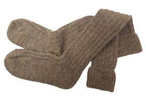 Mysocks Knee High Irish Jacob Sheep 100% Wool Socks