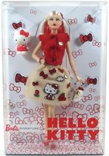 Mattel Barbie Signature Collection BARBIE HELLO KITTY FASHION DOLL 2017 NEW
