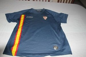 T-Shirt Official Vintage Sevilla FC Brand Joma Size XS Of Participation Europe