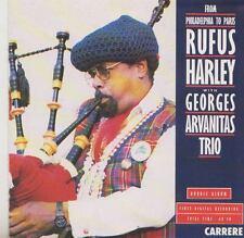 RUFUS HARLEY  GEORGES ARVANITAS TRIO    CD FROM PHILADELPHIA TO PARIS