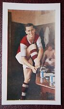 Aston Villa   Packy McParland  Vintage 1960 Colour  Footballer Card