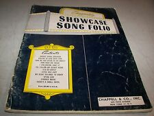 CHAPPELL'S SHOWCASE SONG FOLIO Sheet Music Song Book