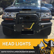 Angel Eye HeadLights LED to suit Toyota Landcruiser 80 Series Projector