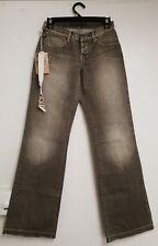 Wrangler Women's Light Brown Distressed Low Waist Flare Jean's Size 7 BNWT
