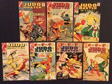 JUDO MASTER #90 91 94-98 Comic Books SILVER AGE Frank McLaughlin CHARLTON Fine