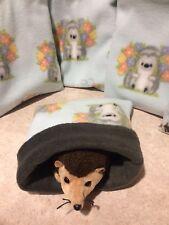 Cute Hedgehog - snuggle sack- animal Bonding Bag - Hedgehog -guinea Pig