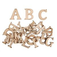 Wooden Letters 24 Pack - Natural - Embellishments Craft For Occasions C2180