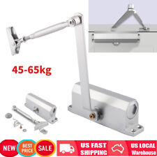 45~65KG Auto Mounted Spring Door Closer Stainless Steel Adjust Surface Self
