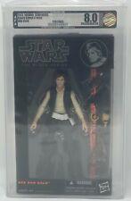 "Star Wars Black Series ""Han Solo"" #08 Orange Line AFA U8.0 (Archival)"