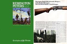 Remington 1972 Firearms Catalog