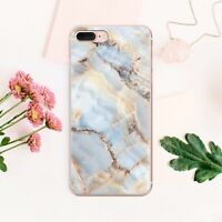 Marbled iPhone 11 XS Max Cover Stone iPhone X 7 8 Plus Case Mineral iPhone 6s XR