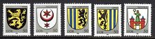 Germany / DDR - 1984 Coats of arms Mi. 2857-61 MNH