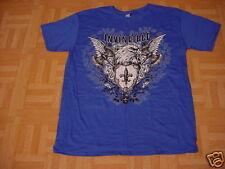 Men's Royal Blue Invincible Eagle T-Shirt  Large