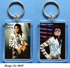 MICHAEL JACKSON - Keyring / Bag - Tag - 3 to Pick from.