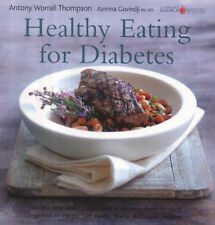 """AS NEW"" Healthy Eating for Diabetes (Healthy Eating Series), Azmina Govindji, A"