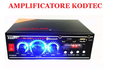 AMPLIFICATORE BLUETOOTH  USB SD MP3 RADIO PLAY FM 220V DC 12V DIGITAL DISPLAY