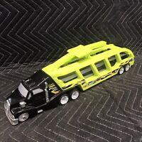2000 Mattel Hot Wheels Car Carrier Vehicle Semi Truck Transport T-1