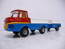 Corgi Qualitoys 701 + 708 Pickup Turbine Truck with Trailer blau/weiß ohne Box