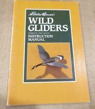 Eddie Bauer Wild Gliders Instruction Manual 1st Print 1992 Mike Vanozzi pb (b)