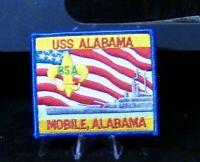 BSA Sea Scouts: U S S Alabama, Mobile, Alabama Patch