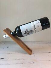 Wooden Wood Wine Bottle Gravity Stand Display Balancing Wine Bottle Rack