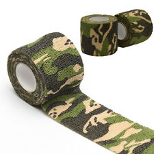 Waterproof Camouflage Bandage Wraps Elastic Adhesive First Aid Tape Stretch