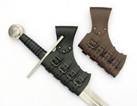 Schnall Schwerthalter aus Leder Halter Schwert 04 SH-schnall