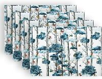Cirlife Placemats Heat Resistant Non Slip Table Mats (Birches) 4 Set!