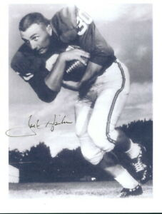 Jack Spikes Signed AFL Dallas Texans Photo