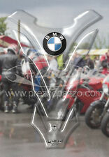 PEGATINA ADHESIVO 3D RESINA PROTECTOR DE DEPÓSITO PARA MOTO BMW TRANSPARENTE