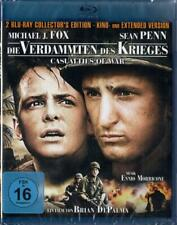 DIE VERDAMMTEN DES KRIEGES (Michael J. Fox) 2 Blu-ray Discs NEU+OVP Extended