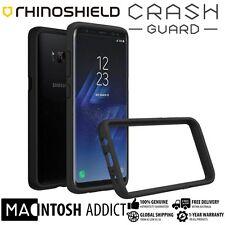 RhinoShield CrashGuard 3.3M Drop Protection Bumper Case For Galaxy S8+ BLACK