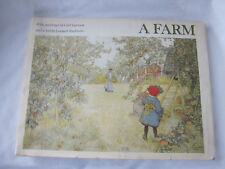 Sweden Book A Farm by Lenmart Rudstrom Pictures by Carl Larsson 1976 1st Amer Ed