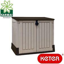Keter Midi ripostiglio portattrezzi per interno esterno giardino cortile garage