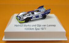 Brekina 16017 Porsche 917K 23 Martini Racing 1000km Spa 1971 Marko van Lennep