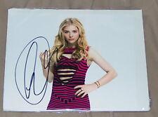 Chloe Grace Moretz - 9 autographed pictures