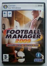 Football Manager 2009 Soccer Strategy for PC & Mac