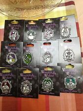 Disney WONDERFULLY WICKED Villain 12 pc pin set Evil Queen Maleficent Chernabog