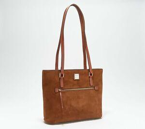 Dooney & Bourke Suede Shopper Bag - Amber n9137